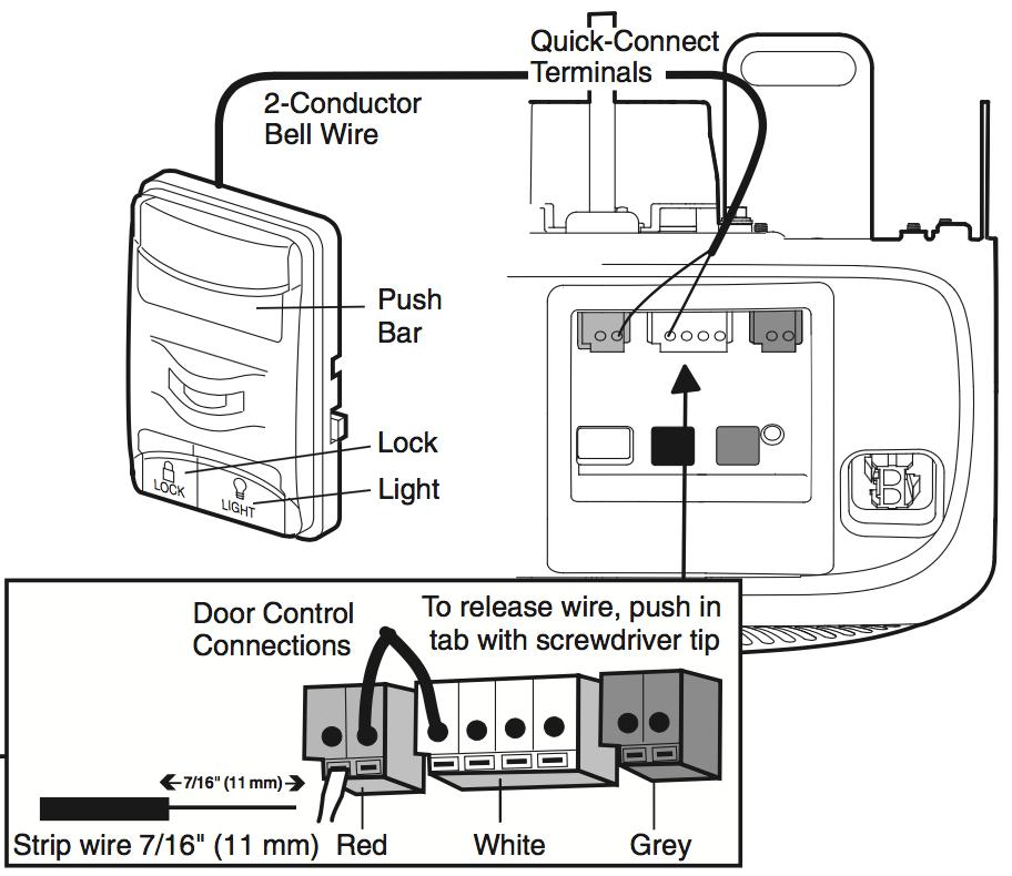 Chamberlain Garage Door Wiring Diagram 7220 : 43 Wiring