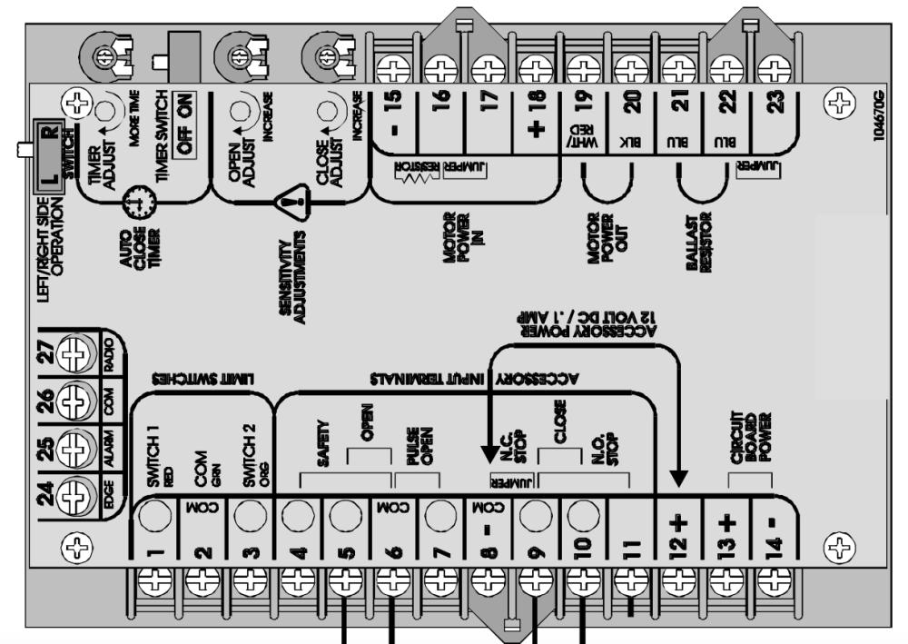 medium resolution of lift master motor la412 wire diagram wiring library rh 44 evitta de 9 wire motor wiring