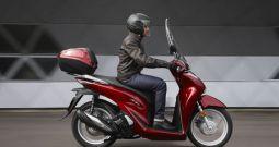 Honda Sh 150 ABS con bauletto e parabrezza