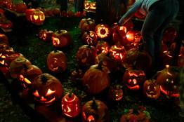 Pumpkin festival in Keene, New Hampshire