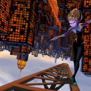 The itsy, bitsy Spider-Gwen.