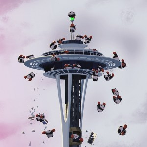 Space Needle detail