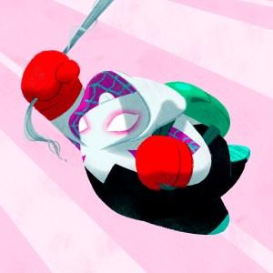 Spider-Gwen Panda