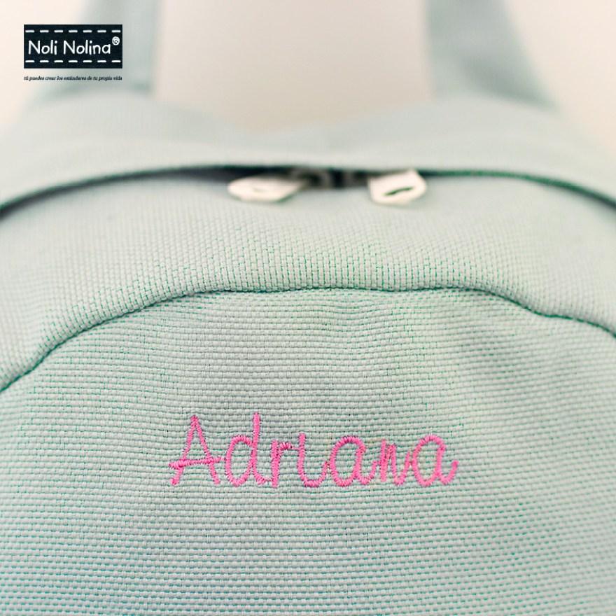 Bordado mochila Adriana