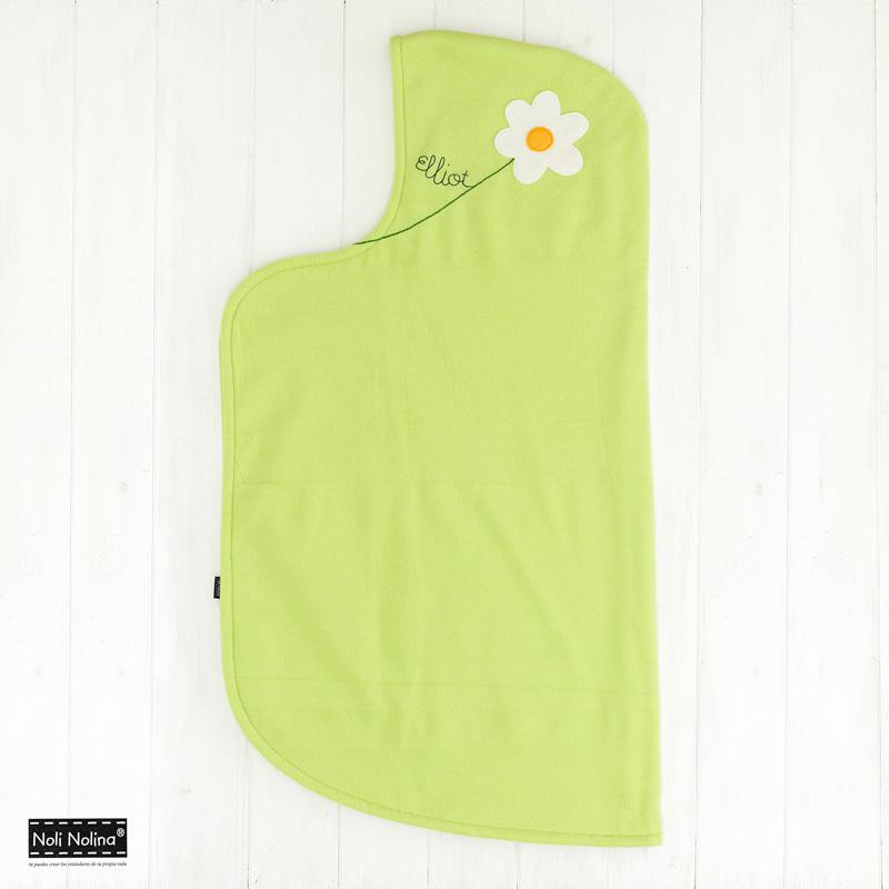 capa manta personalizada para bebé