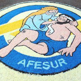Tutorial: alfombra de sal para el día de Corpus Christi