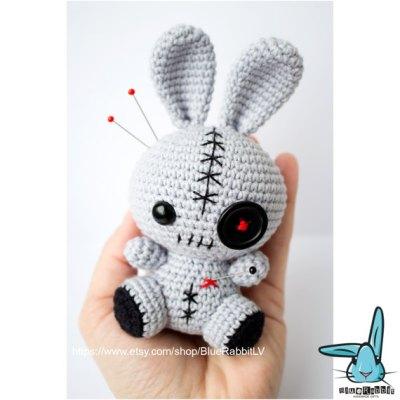 Bộ sưu tập amigurumi len của nhà thiết kế Blue Rabbit LV