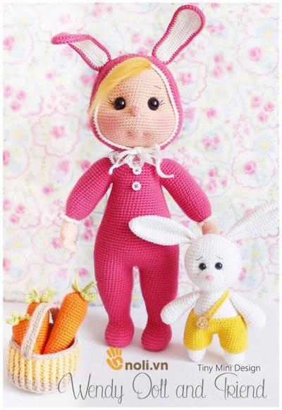 Bộ sưu tập búp bê amigurumi len móc của nhà thiết kế Tiny Mini Design (Phần 1)