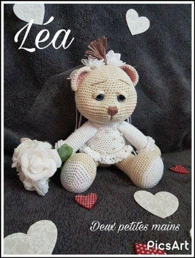 Móc mẫu gấu Lea của nhà thiết kế Deux Petites