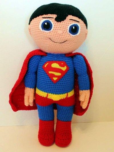 Chart móc siêu nhân Superman