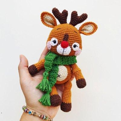 Móc bé nai Deer siêu đáng yêu của tác giả Zipzipdreams