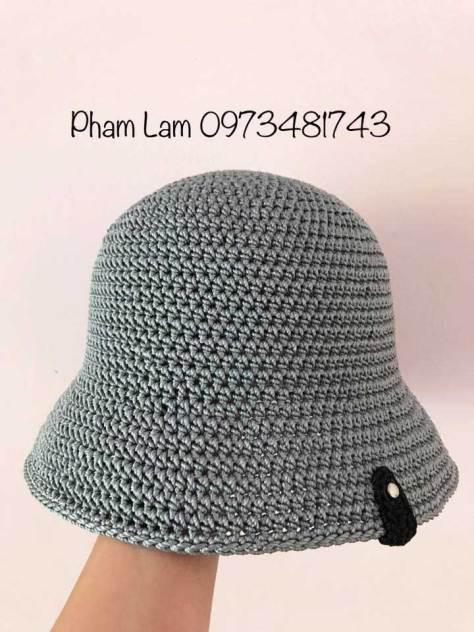 Hướng dẫn móc mũ Ajuma Hàn Quốc phiên bản 2 của tác giả Pham Lam