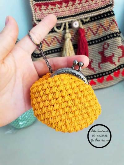Chart túi móc khóa mini xinh yêu của tác giả Tiên Handmade