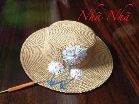 Học cách móc mũ vintage nhà Nhã Nhã