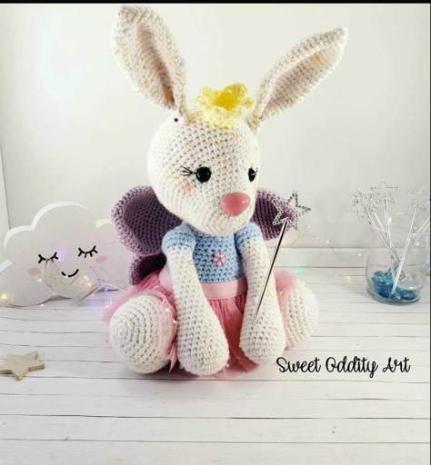 Hướng dẫn móc mẫu thỏ Beatrice