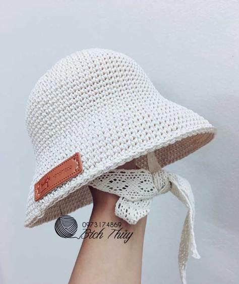 Hướng dẫn móc mũ Ajuma theo phong cách Bích Thủy