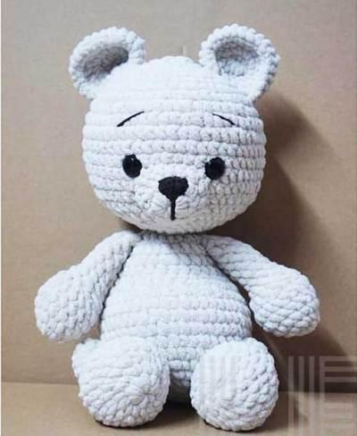 Chart móc gấu len nhung mềm mịn (người dịch Kim Hạnh)