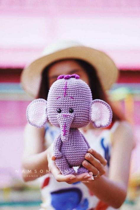 Học cách móc voi con Lumpy ngộ nghĩnh