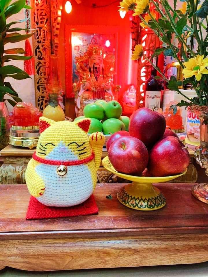 Cách móc mèo thần tài của tác giả Duyên Vũ