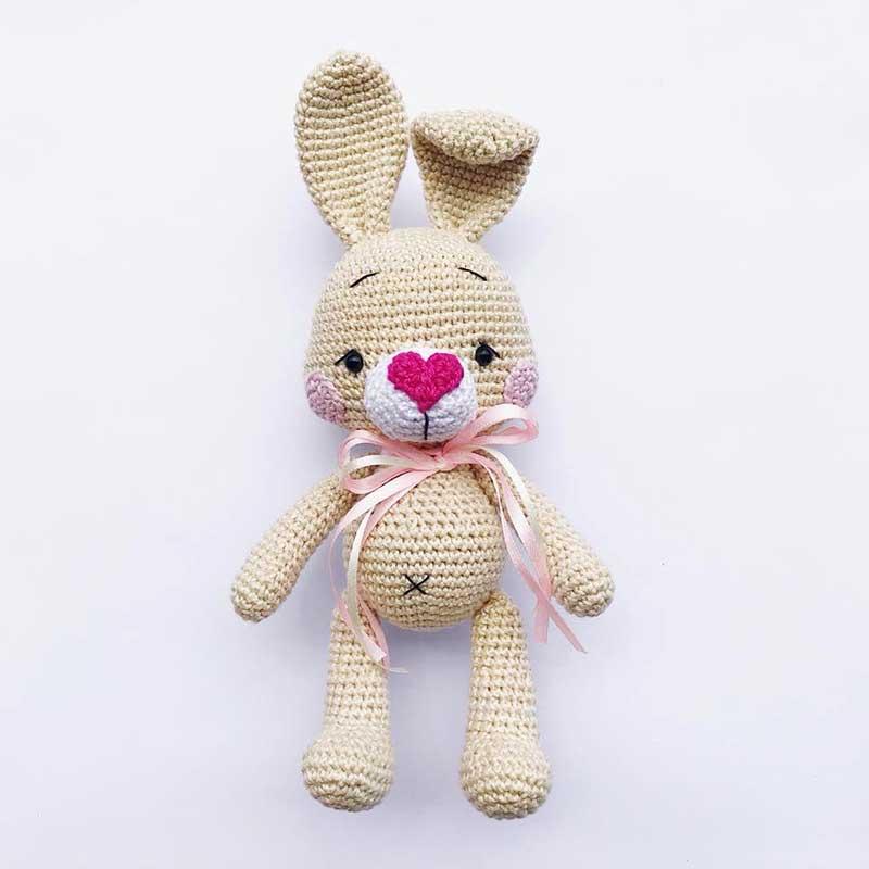 Hướng dẫn móc bé thỏ Lolly