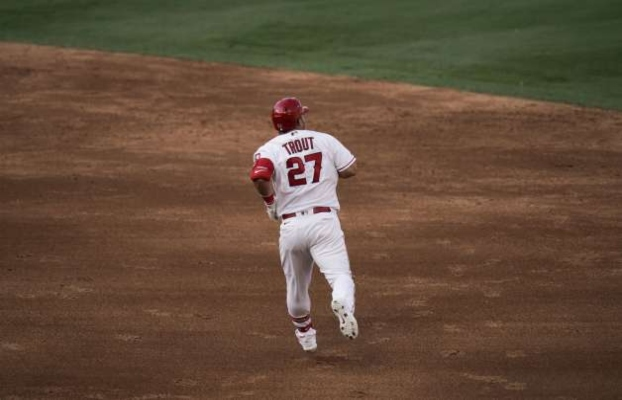 The 29 year old is already the Angels franchise homerun leader