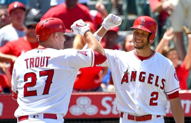 Simmons and Mike Trout are key contributors of the Angels offense.
