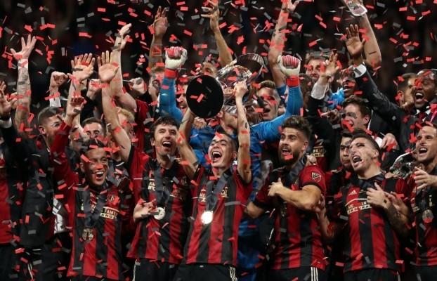 Atlanta United hosting the first trophy in Georgia since 1995.