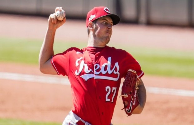 Bauer is a Cy Young candidate this year for the Reds.