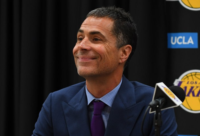 Lakers GM Rob Pelinka