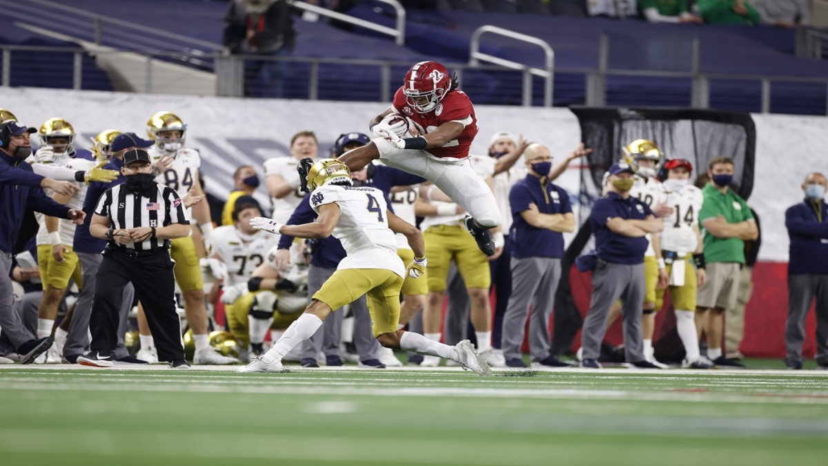 Top 5 Running Back Prospects in the 2021 NFL Draft