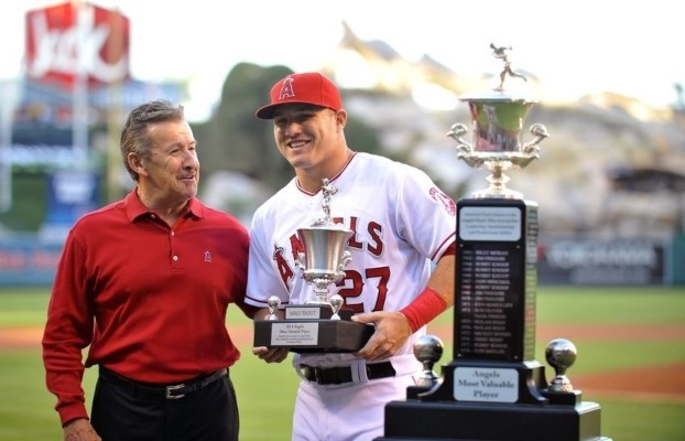 Mike Trout's luck has not really affected him so far, as he is a 3x MVP.