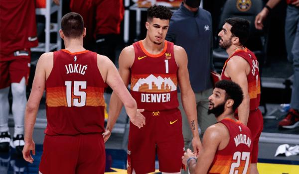 Denver Nuggets starting 5