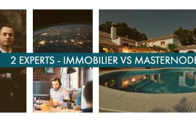 Masternodes ou Immobilier : technologie vs bâtiment ?
