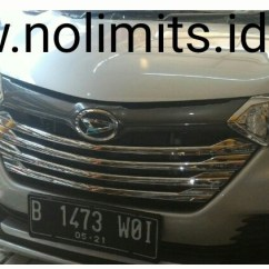 List Grill Grand New Avanza Veloz Warna 1.5 Type G 4 Pieces All No Limits Weight