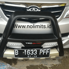 No Mesin Grand New Avanza Veloz Garnish Reflektor Belakang All