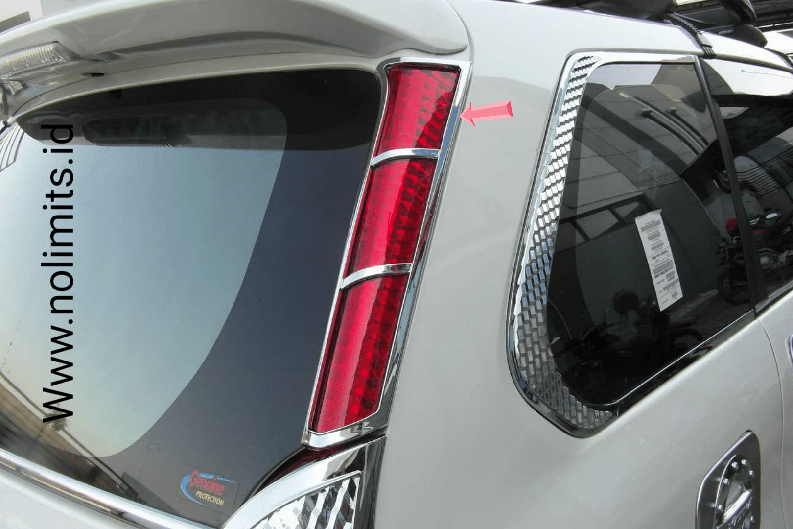 spoiler grand new avanza baru garnish reflektor belakang all