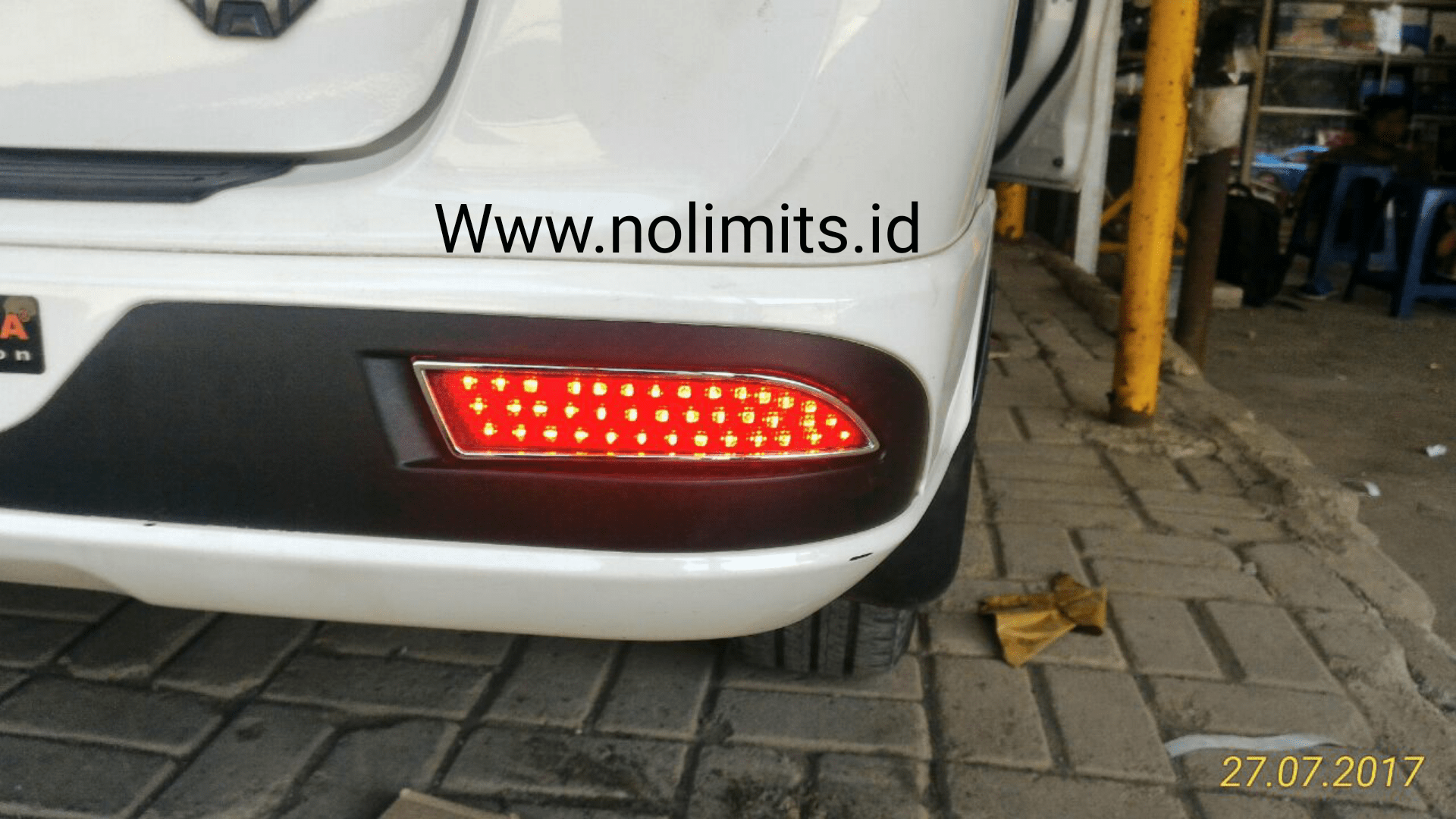 bemper grand new veloz sewa mobil avanza jogja led lampu reflektor bumper all no limits