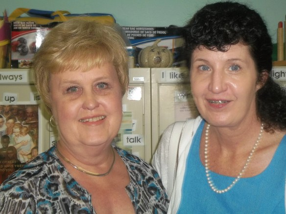 Eleanor Williams and Marcia DuBois of the Virginia Department for Aging and Rehabilitative Services.