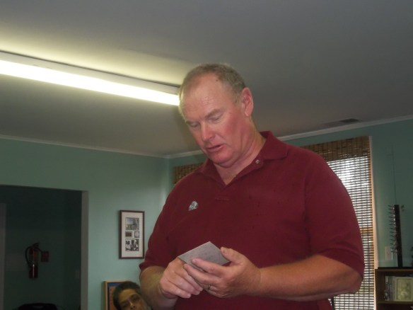 Dennis Custis, local historian came to visit us last week!  We really enjoyed enjoyed hearing  about Henry A. Wise.