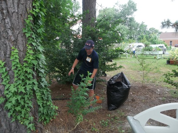 """Youth Works again here doing some yard work!  They place looks great!!  """"Hope they come back!!""""- Zel"""