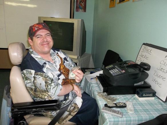Matt is our banker, he keeps us financially straight. Thanks Matt!!