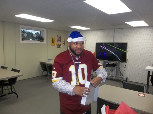 Every year they donate wrapped gifts for the men and women of No Limits Eastern Shore.