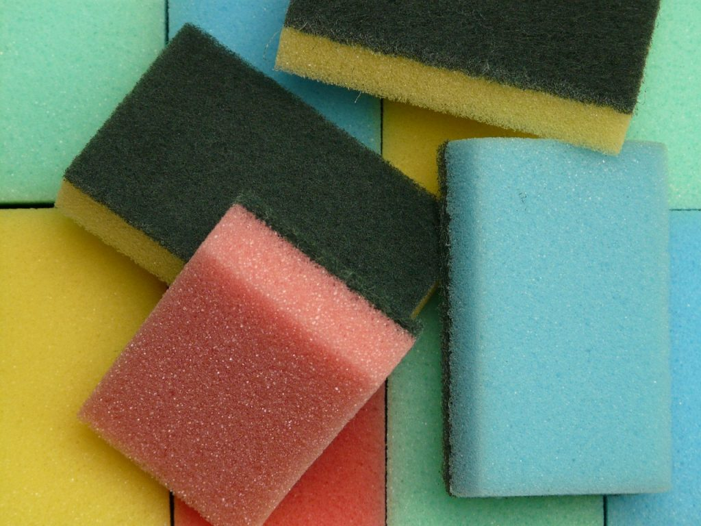 stop cleaning your kitchen sponge