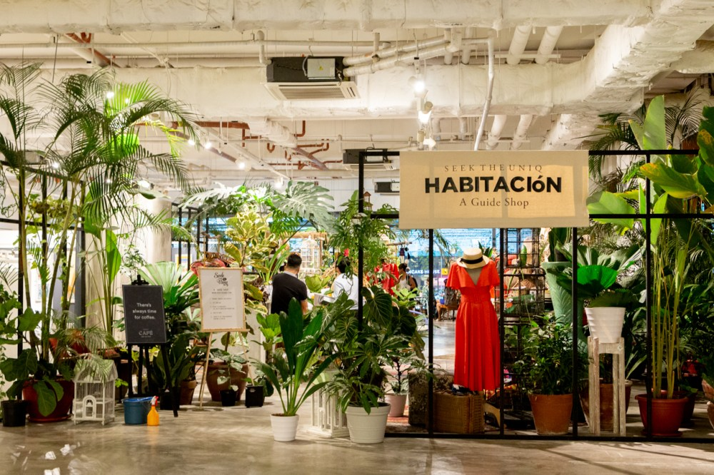 medium resolution of the entrance to habitacion no doors walls or even drapes just greenery