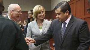 zimmerman not guilty verdict