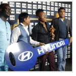 Photo: Reekado Banks Poses With His Headies Car Key & Award After Olamide And Don Jazzy Fight