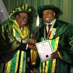 Actor, Kenneth Okonkwo Bags Doctorate Degree
