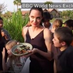 Photos/Video: Angelina Jolie and her kids eat fried scorpions and tarantulas in Cambodia