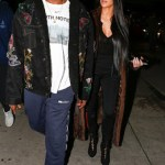 Kanye West and Kim step out for romantic dinner