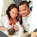 Nollywood actress Sugar Chika and husband welcome first child